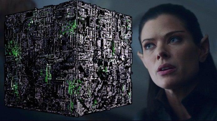 Star Trek Picard Ramdha Narissa Narek Romulan Borg Connections