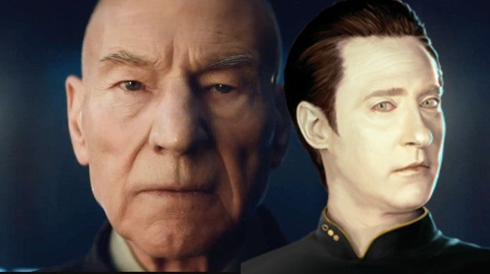 Star Trek Picard Season 1 Finale Preview Android Synth Picard Patrick Stewart