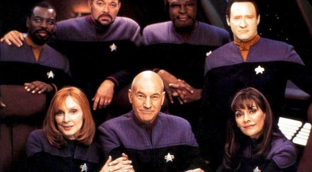 Star Trek The Next Generation Cast Reunion Picard
