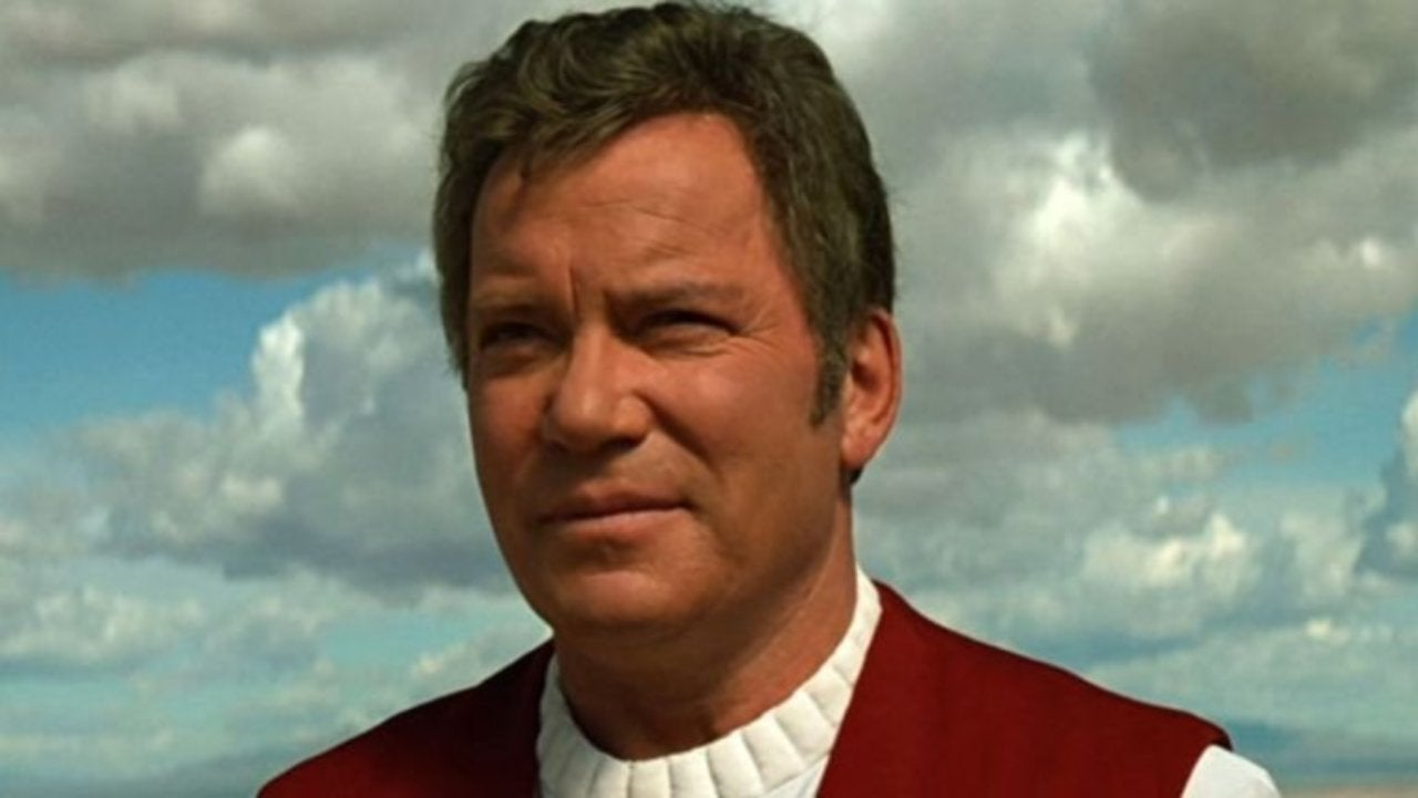 Star Trek William Shatner Kirk Return