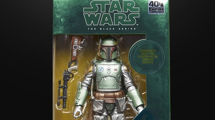 Star Wars The Black Series Carbonized Boba Fett Figure 6 Inch NEW