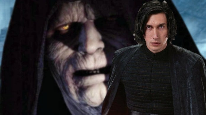 Star Wars Rise Kylo Ren Ben Solo Palpatine influence Snoke Connection