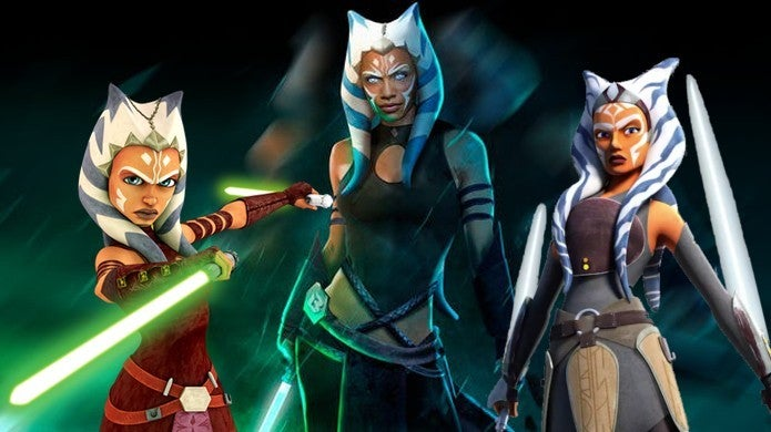 Star Wars Ashley Eckstein Ahsoka Tano The Mandalorian Rumors Rosario Dawson