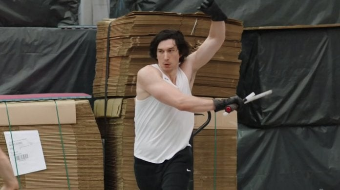 star wars the rise of skywalker adam driver kylo ren