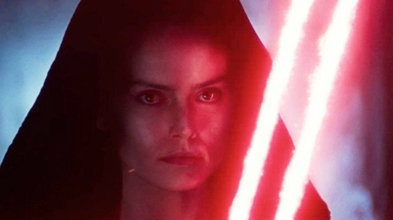 Star Wars The Rise Of Skywalker Bts Image Reveals Empress Rey On Palpatine S Throne
