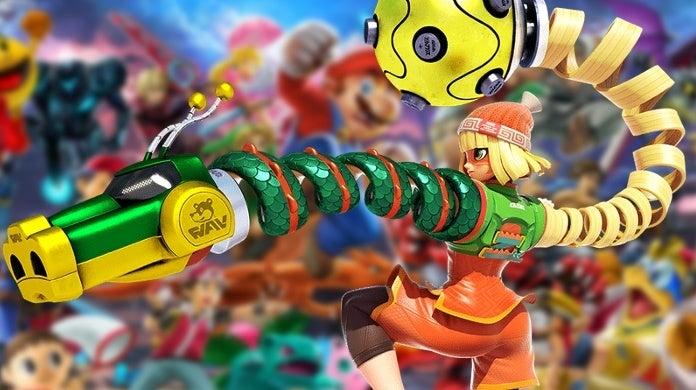 Super Smash Bros Ultimate ARMS