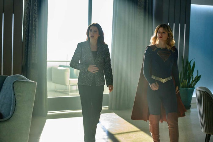 supergirl the bodyguard andrea and supergirl