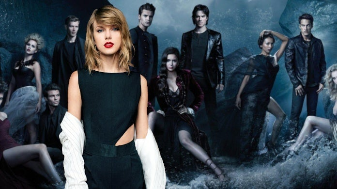 Taylor Swift Vampire Diaries Cameo Nina Dobrev