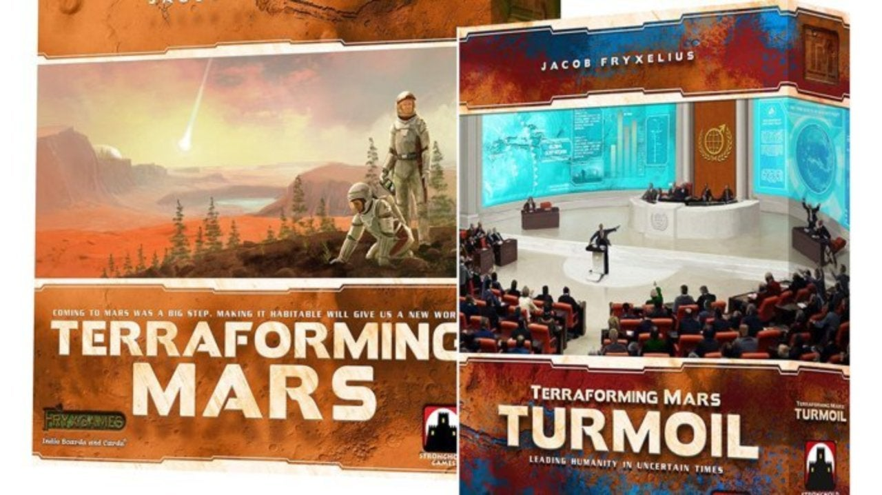 Terraforming Mars Board Game and Turmoil Expansion Get Massive Discounts