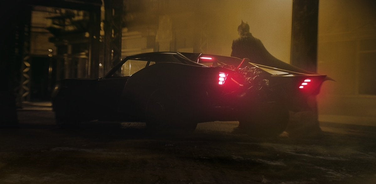 the batman batmobile robert pattinson