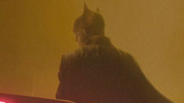 The Batman Robert Pattinson Batsuit Official Photos Back Cowl Ears