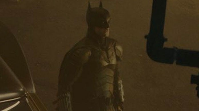 The Batman Robert Pattinson Batsuit Official Photos Cape Cowl Ears