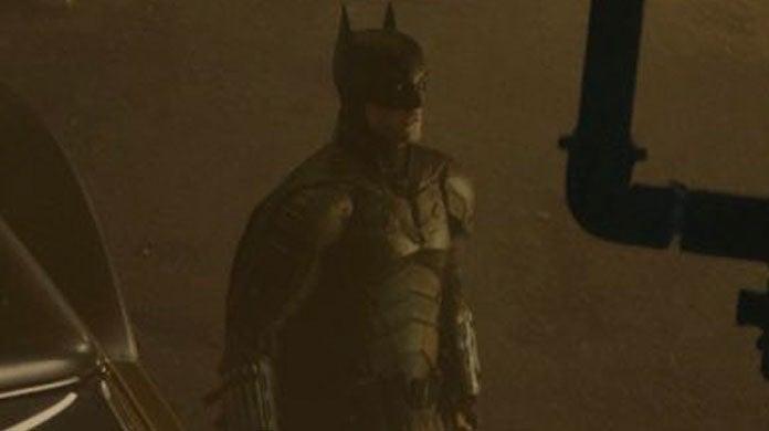 The Batman Robert Pattinson Batsuit Official Photos Cape Cowl Ears