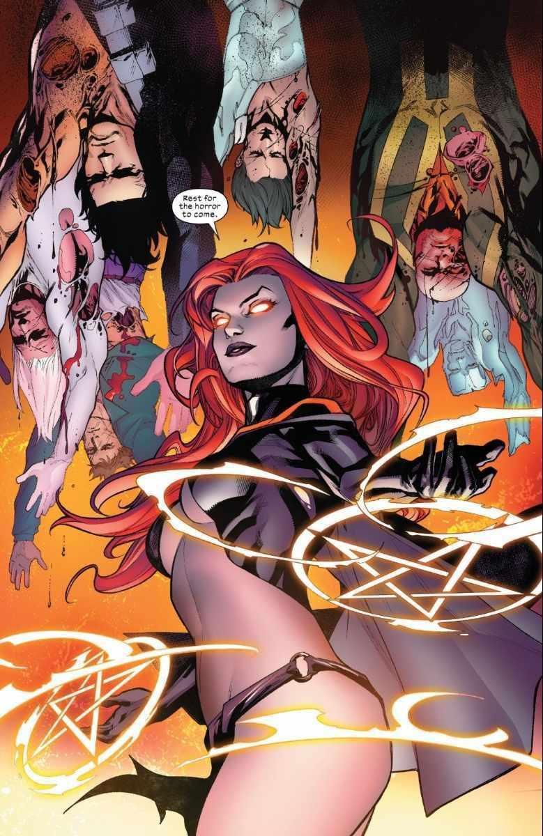 The Goblin Queen Hellions X-Men Marvel
