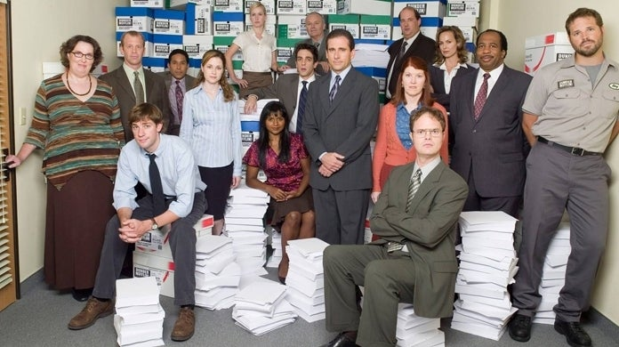 the office group photo