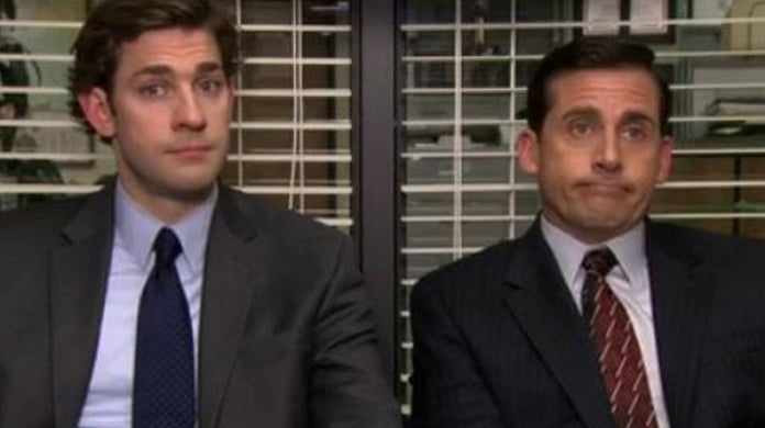 the office jim halpert michael scott