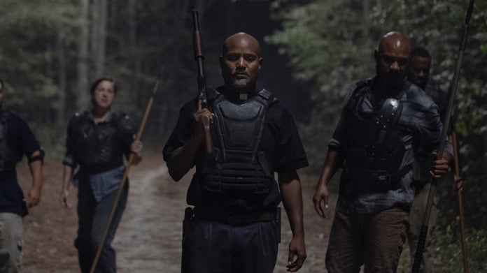 The Walking Dead 1010 Stalker Father Gabriel