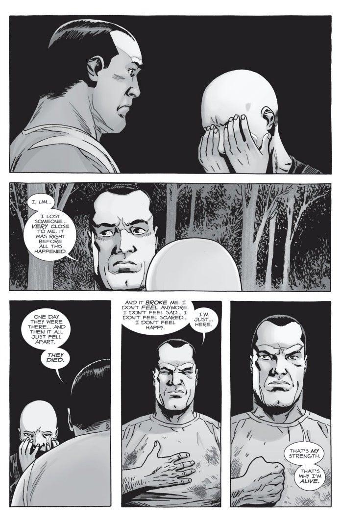 The Walking Dead 156 Negan Alpha