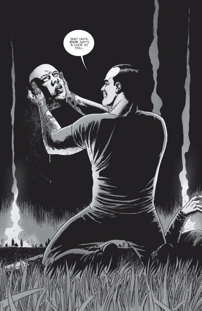 The Walking Dead 156 Negan Alpha death