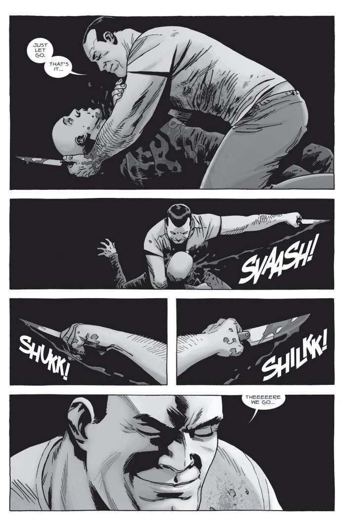 The Walking Dead 156 Negan kills Alpha