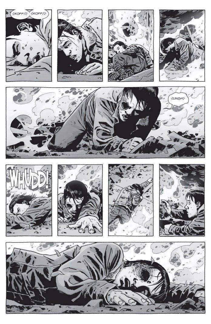 The Walking Dead 161 Carl Whisperer War