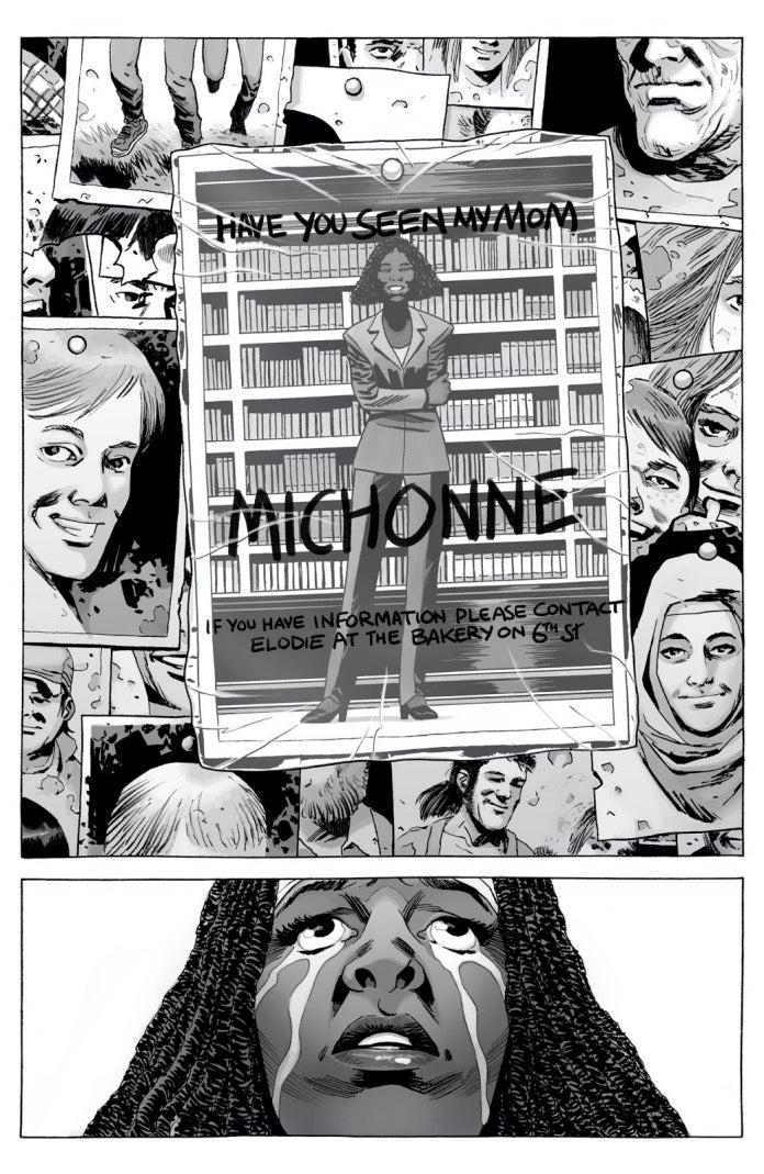 The Walking Dead 175 Michonne Elodie