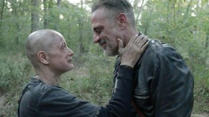 The Walking Dead Alpha Negan Jeffrey Dean Morgan Samantha Morton