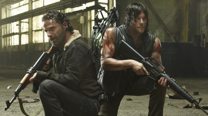 The Walking Dead Andrew Lincoln Norman Reedus Rick Daryl