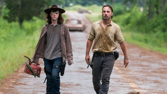 The Walking Dead apocalypse Rick Carl Grimes Chandler Riggs