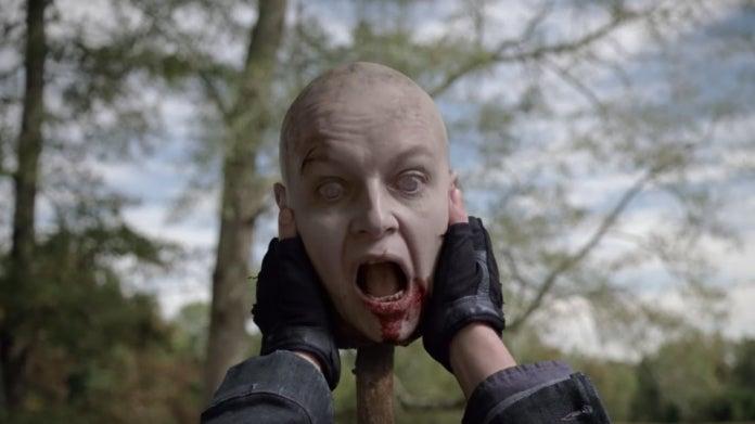 The Walking Dead Carol Alpha head 1014 Look at the Flowers