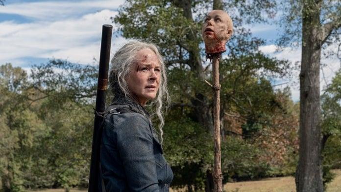 The Walking Dead Carol Alpha head