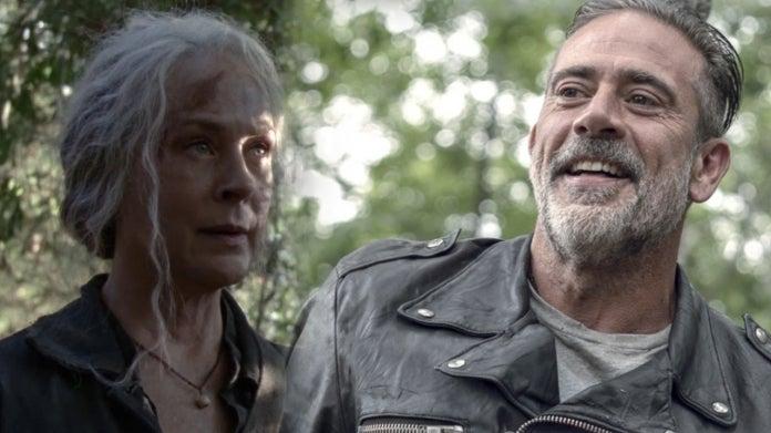 The Walking Dead Carol Negan comicbookcom