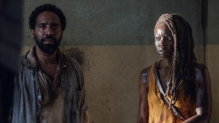 The Walking Dead Danai Gurira Michonne Kevin Carroll Virgil