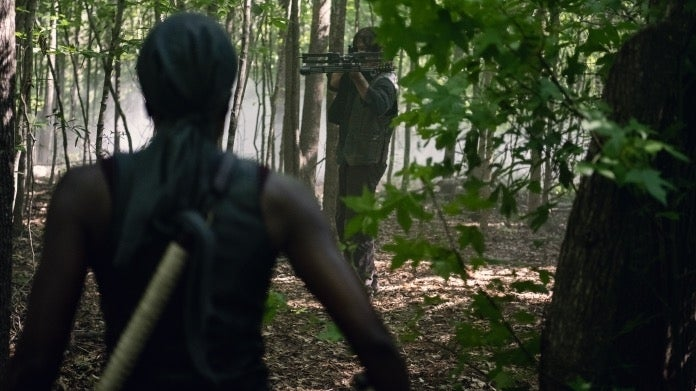The Walking Dead Daryl Michonne