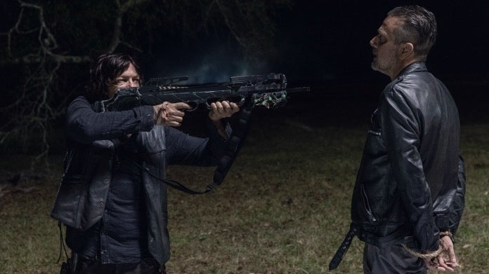 The Walking Dead Daryl Negan 1014 Look at the Flowers