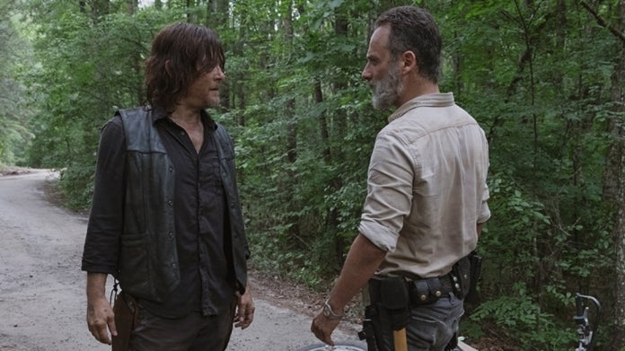 The Walking Dead Daryl Rick Grimes Norman Reedus Andrew Lincoln