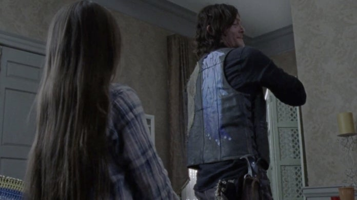 The Walking Dead Daryl vest Judith Norman Reedus Cailey Fleming