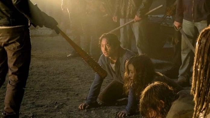 The Walking Dead Glenn death Negan