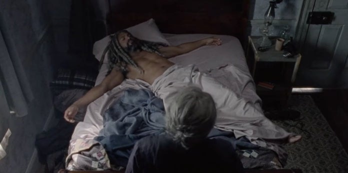 The Walking Dead King Ezekiel crucifixion