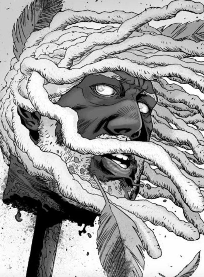 The Walking Dead King Ezekiel death