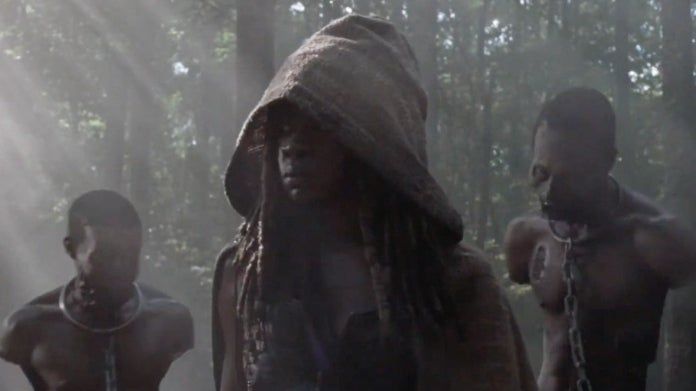 The Walking Dead Michonne Andrea 1013 What We Become