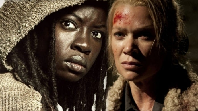 The Walking Dead Michonne Andrea comicbookcom