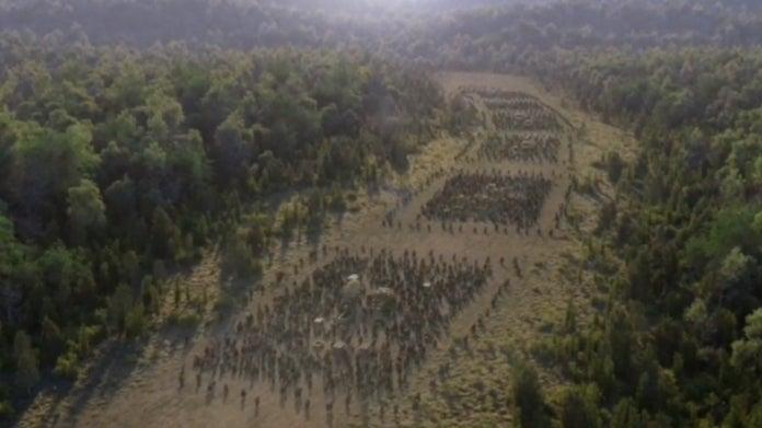 The Walking Dead Michonne caravan