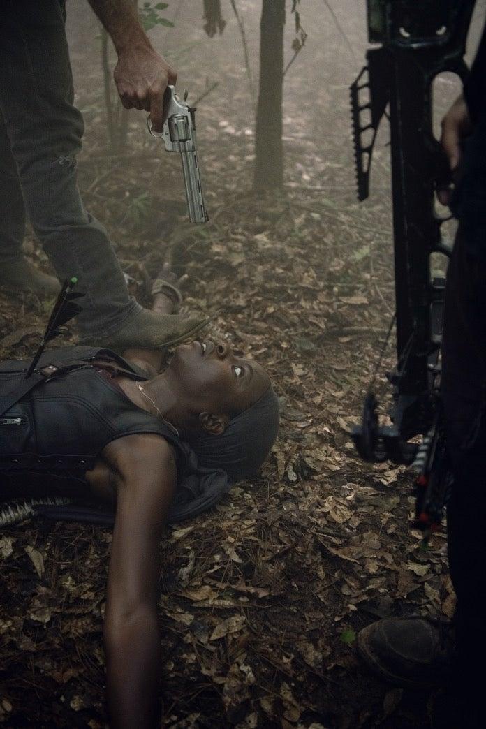 The Walking Dead Michonne death