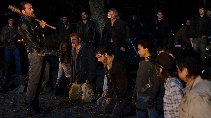 The Walking Dead Michonne Negan