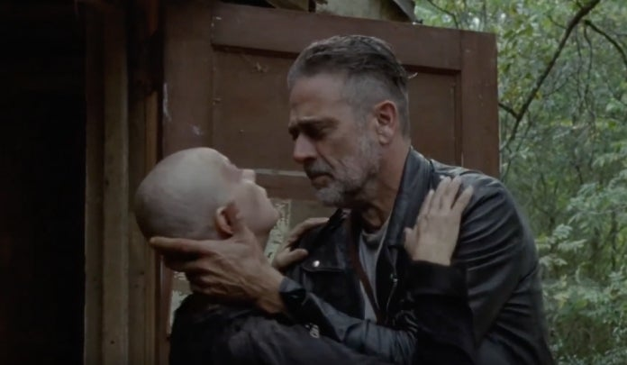 The Walking Dead Negan Alpha death