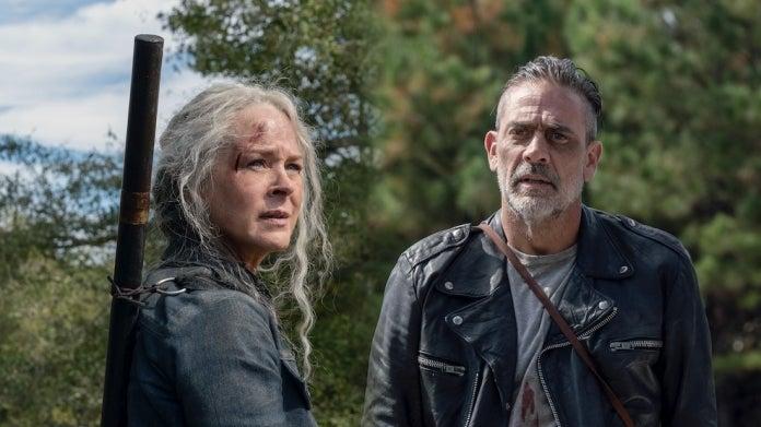 The Walking Dead Negan Carol Jeffrey Dean Morgan Melissa McBride ComicBookcom