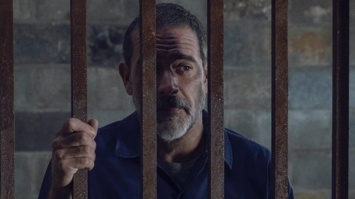 The Walking Dead Negan jail