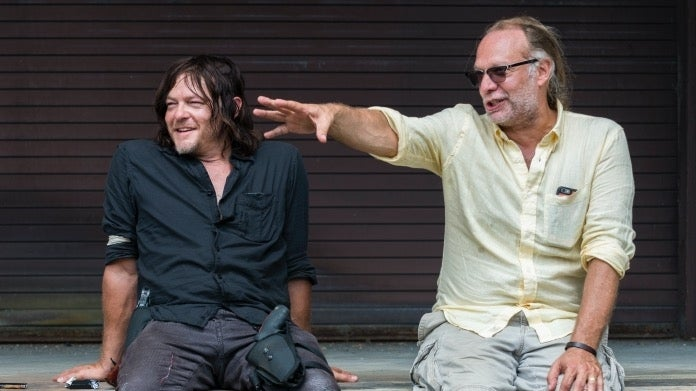 The Walking Dead Norman Reedus Greg Nicotero