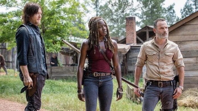 The Walking Dead Rick Daryl Michonne